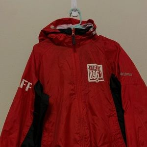 Columbia windbreaker rain jacket
